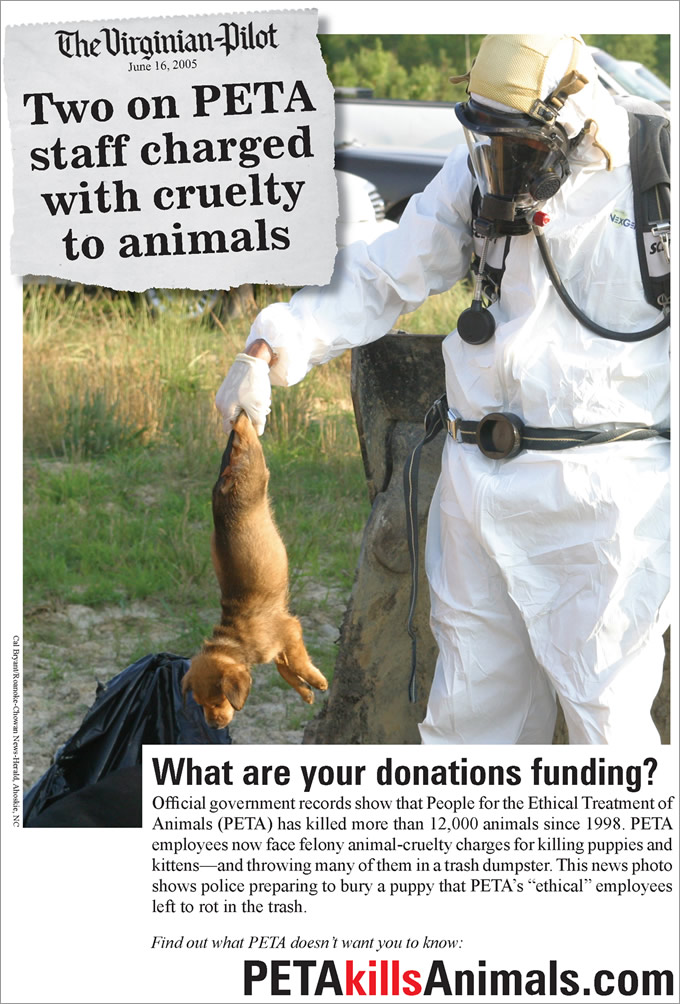 What are your donations funding ad - Print - December 2011