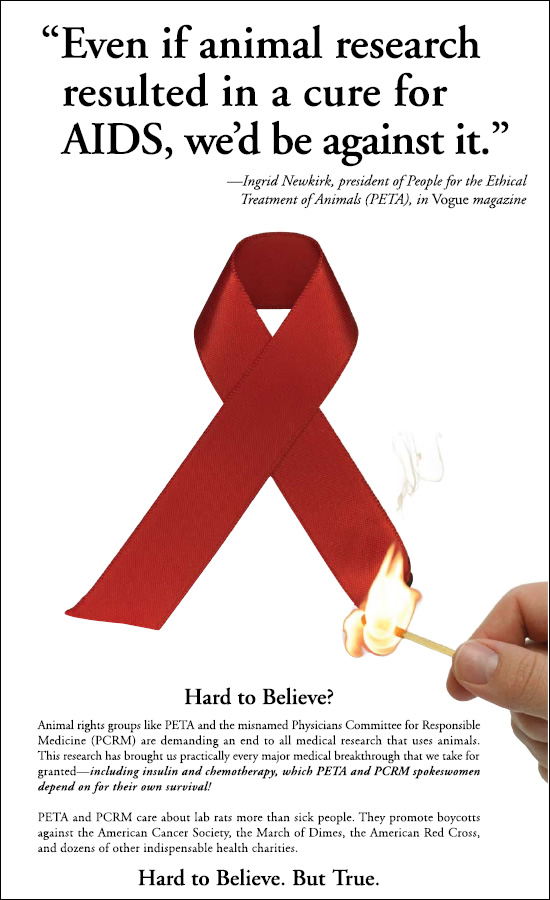 AIDS Research Ad - Print - December 2011